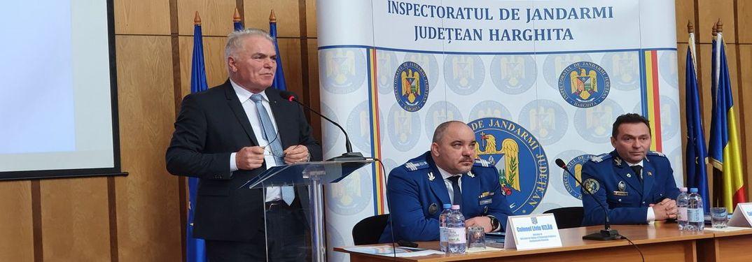 Ședința de analiză a activității pentru anul 2019 a Inspectoratului de Jandami Județean Harghita